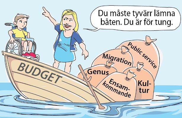 Kulturskribenten Sara Abdollahi Lekta vs Magdalena Andersson