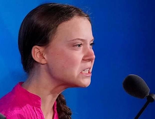 Greta Thunberg med klimatångest