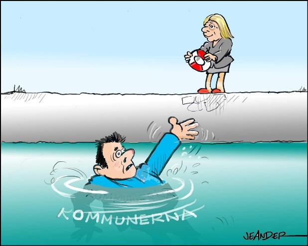Kommuner behöver mer pengar från staten för att klara invandringen. Finansminister Magdalena Andersson