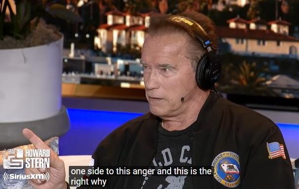 Howard Stern intervjuar en 'starstruck' Arnold Schwarzenegger om Greta Thunberg