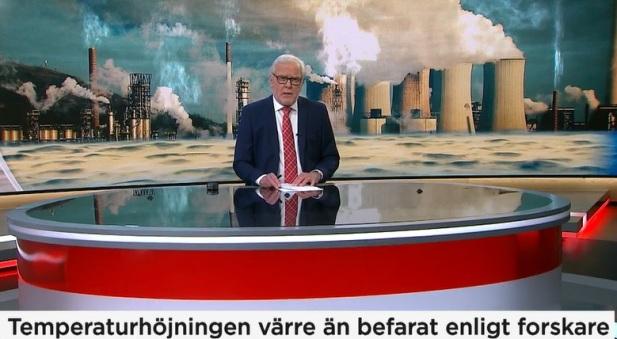 Temperaturhöjningen värre än befarat enligt forskare, hävdar TV4-nyheterna 2019-10-24
