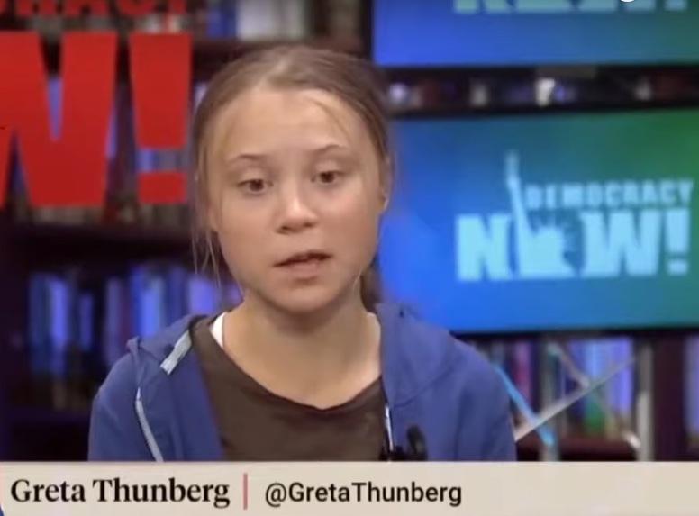 Verbala attacker mot Greta Thunberg på Internet