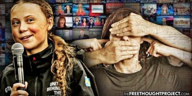 Greta Thunberg - Hör inte, ser inte, lyssnar inte