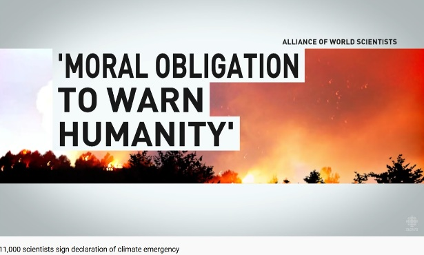 Alliance of World Scientists: Moral obligation to warn humanity