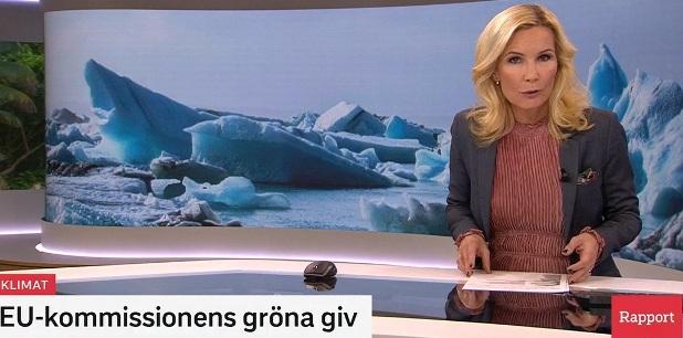 EU-kommissionens gröna giv, klimatlag, SVT Rapport 2019
